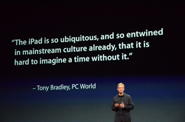 Tony Bradley iPad 3 Keynote Mention